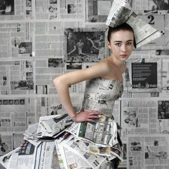 Newspaper Dress?
