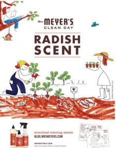 meyers radish scent