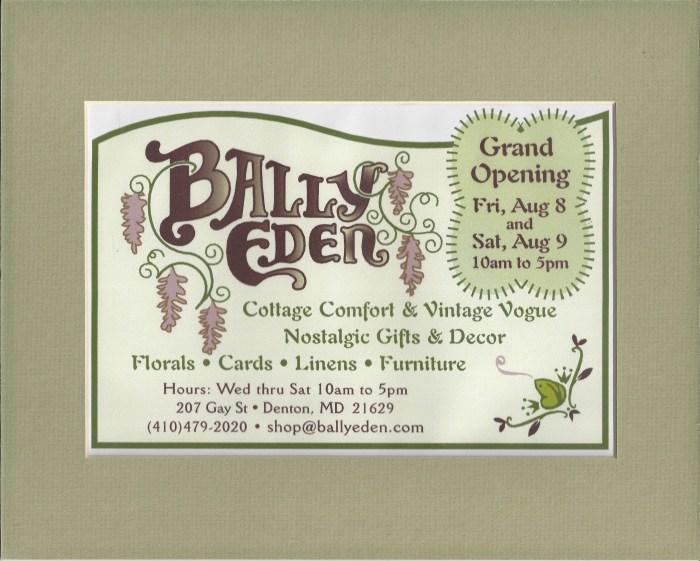 Opening Ad Bally Eden 001