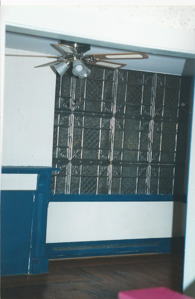 Tin ceiling 001