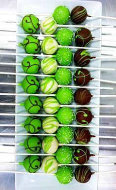 green cake pops