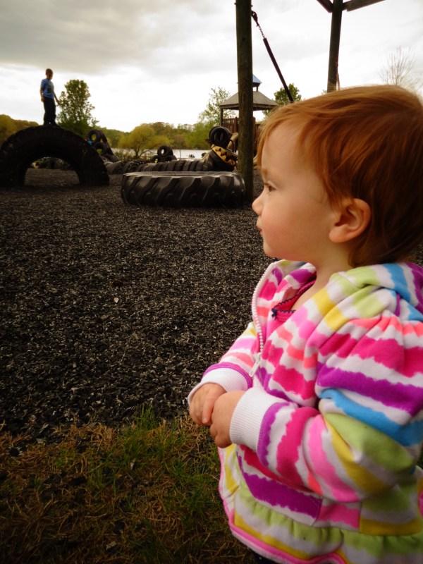 Tuckahoe Park in Mothering in Thirds for Shalavee.com