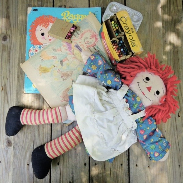 My childhood Raggedy Ann from Sucky to Ducky on Shalavee.com