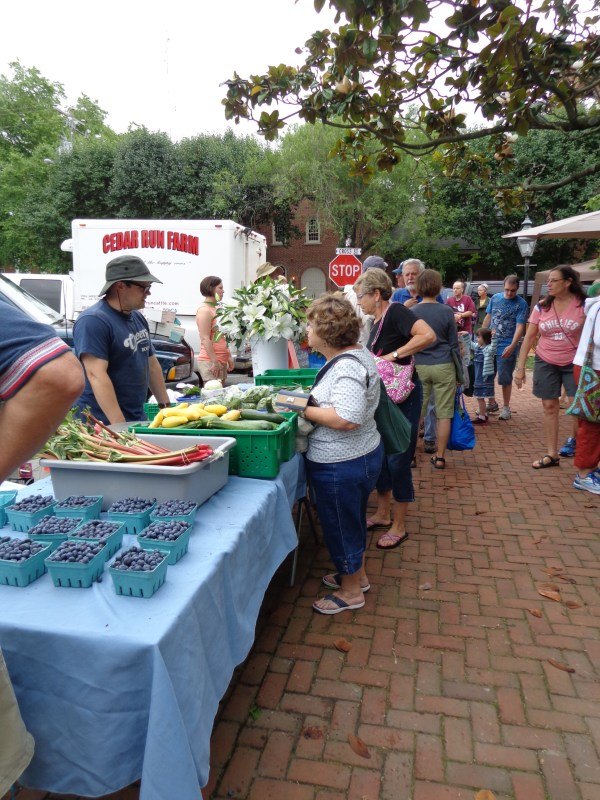 the Farmer's Market in #Chestertown,MD from Shalavee.com