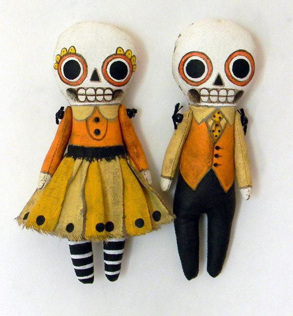 dolls for day of the dead on Shalavee.com