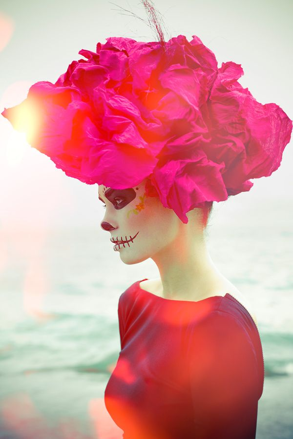 pink day of the dead on Shalavee.com