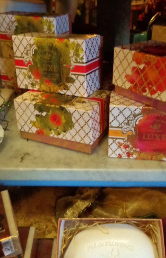 Luxurious soaps at Moonvine on Shalavee.com