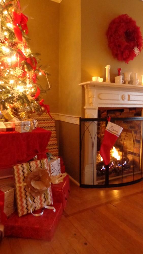 part tree and fireplace 2014 on Shalavee.com