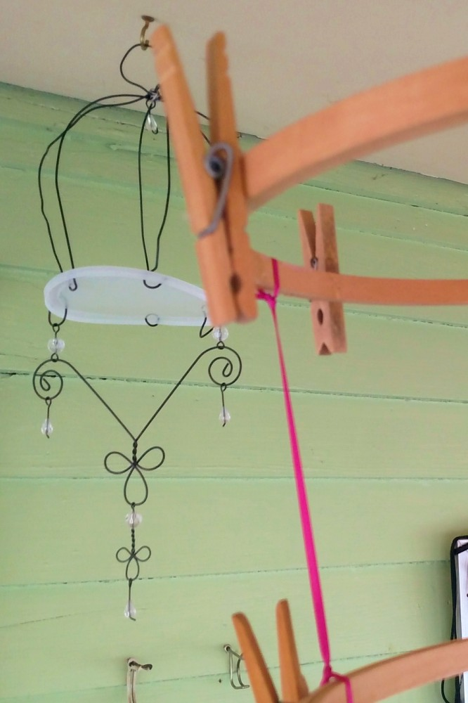 Homemade chandelires fom Shalavee.com