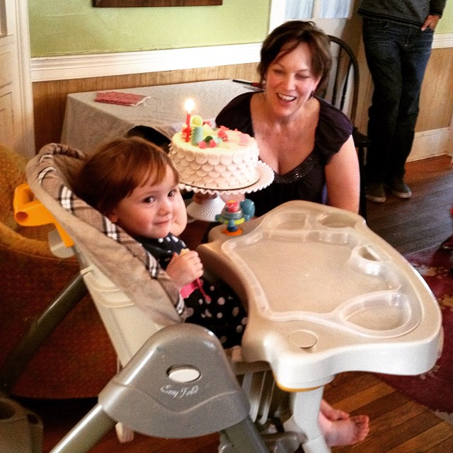 Me and Fiona at her second birthday party on Shalavee.com