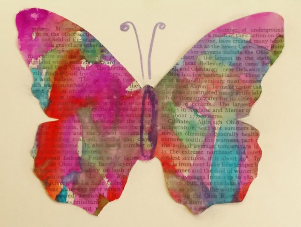 Watercolor Butterflies on Shalavee.com
