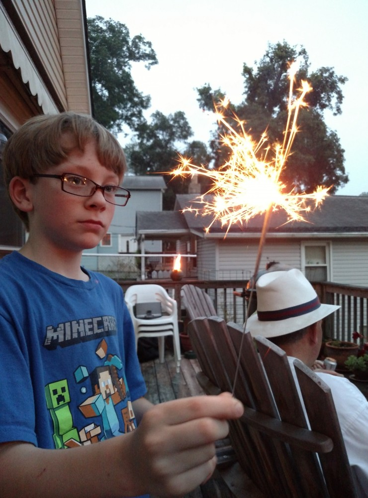 sparklers on Shalavee.com