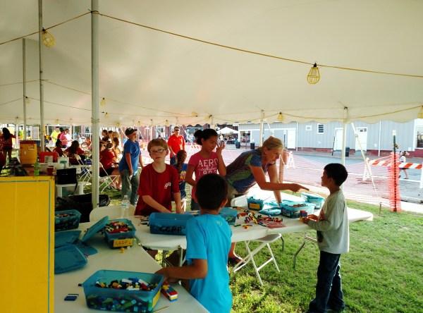 volunteering for Summerfest on Shalavee.com