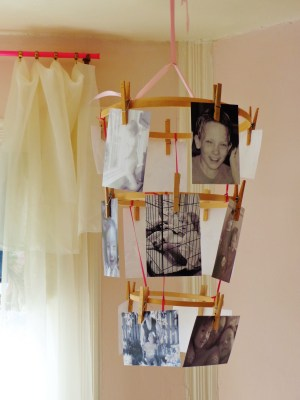 Clothespin picture display chandy on Shalavee.com