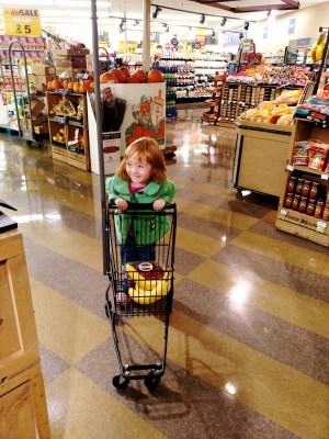 Fiona at the grocery store on Shalavee.com