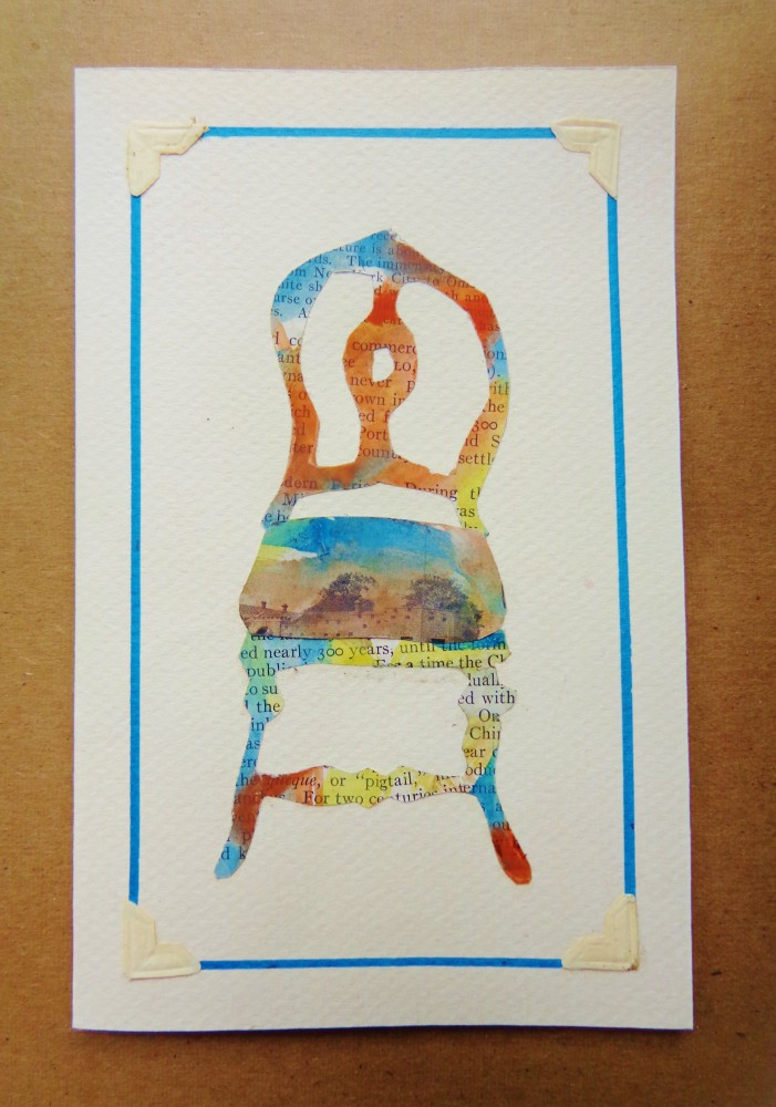 Watercolor chair card Oct 1