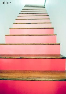 another ombre stairs shot on Shalavee.com