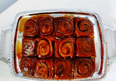 Cinnamon buns on Shalavee.com