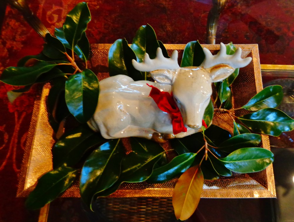 reindeer on a tray on Shalavee.com