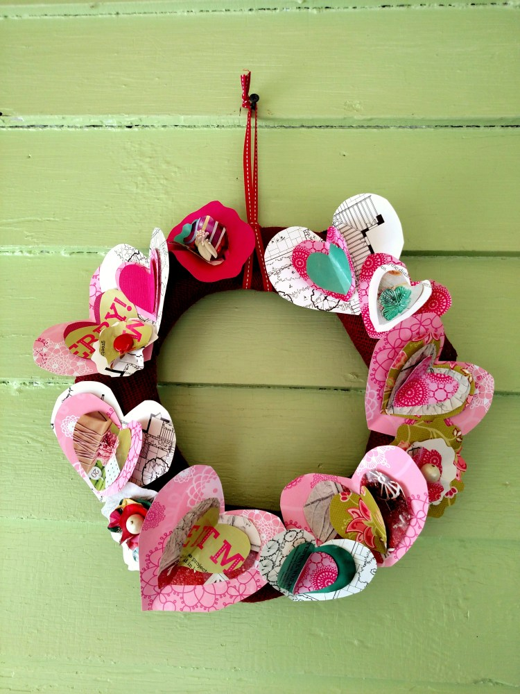heart wreath on Shalavee.com