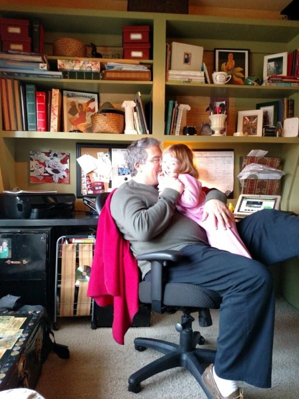 Daddy and Fiona on Shalavee.com