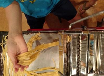 Making pasta on Shalavee.com