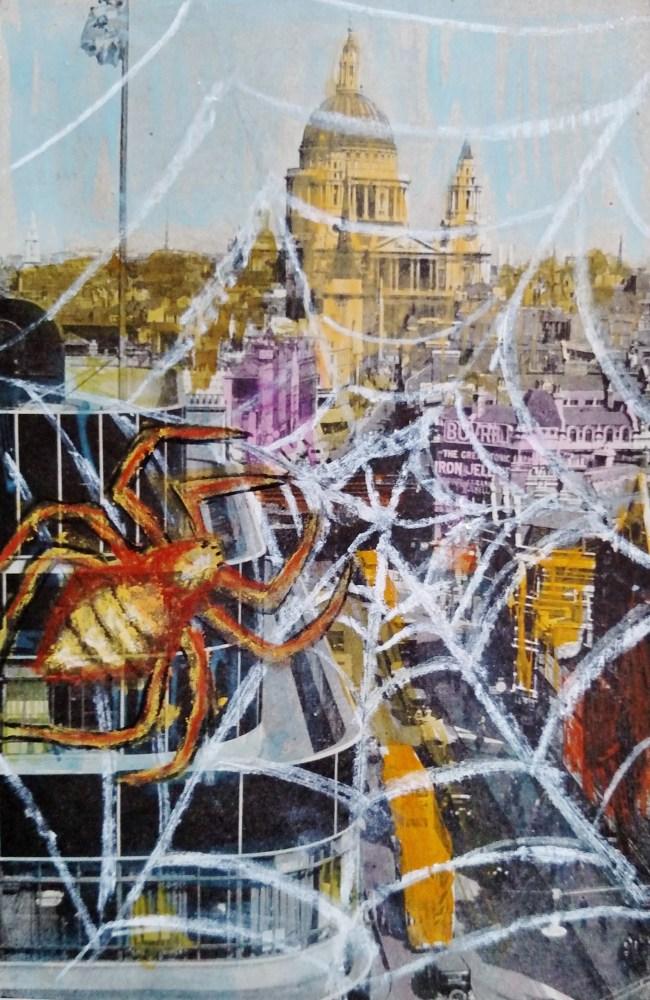 spider-over-londons-fleet-street on My third week of creativity on Shalavee.com