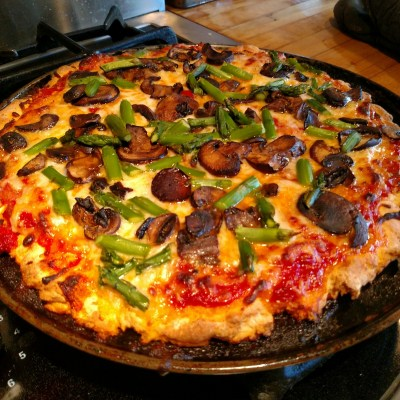 gluten free pizza on Food Porn on Shalavee.com