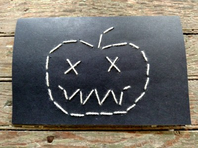 embroidered-pumpkin for my creative october so far on Shalavee.comreat