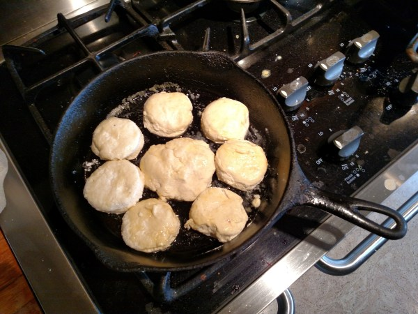 biscuits in-the-pan on Food Porn on Shalavee.com