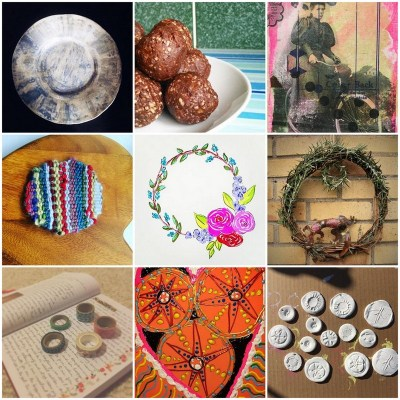 our creative selves challenge day one on Shalavee.com