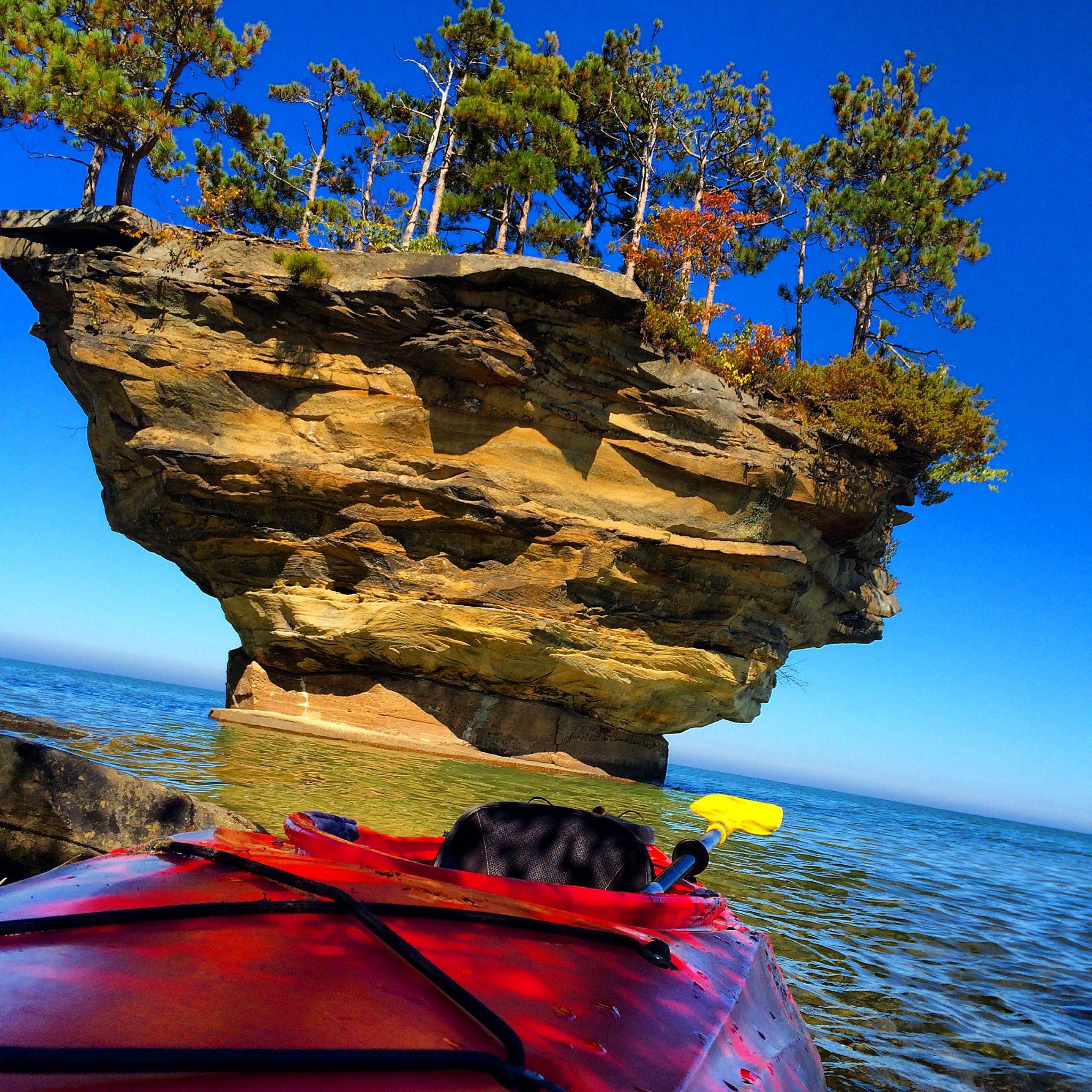 michigan rock things places lake visit turnip huron bucket travel rocks island beaver mi port kayak shaleewanders austin epic northern