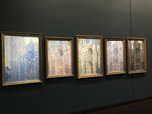 Series La Cathedrale de Rouen Claude Monet Photo: Mary van Balen