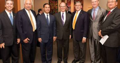 Shale Magazine: Joaquin Castro and others celebrate UTSA's Institute for Economic Development for reaching 35 Years