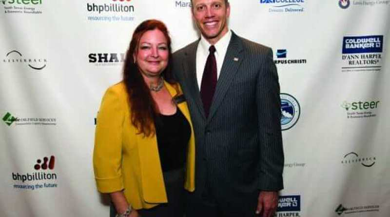 Shale Magazine Cover Party Honors New Texas Railroad Commissioner Ryan Sitton at the Palm Restaurant in Houston