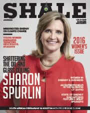 SHALE Oil & Gas Business Magazine: Plains All American Pipeline LP Sharon Spurlin Cover