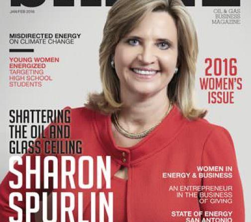 SHALE Oil & Gas Business Magazine: Plains All American Pipeline LP Sharon Spurlin Cover