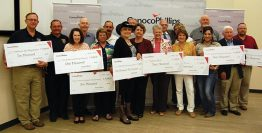 Conocophillips presents grant to DeWitt County Recipients