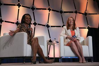 Regina with Condoleeza Rice GEC 2014