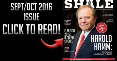 Shale featured September October 2016 Harold Hamm cover Continental Resources