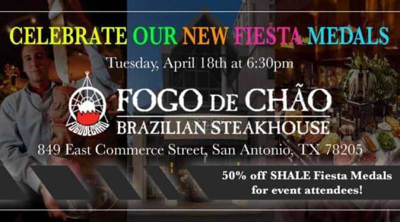 Fogo de Chao SHALE Oil & Gas Business Magazine Fiesta Medals Event 800x440