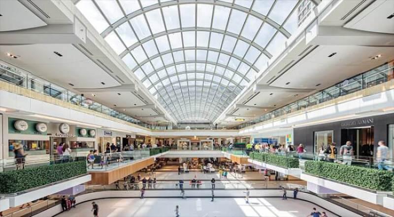 the galleria shopping center ice rink Houston, Texas