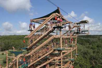 NBC Canopy Challenge 7-23-12, San Antonio, TX