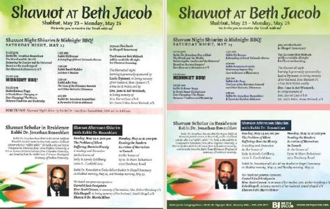 Rabbi who sauna-ed with students in New York was scholar-in-residence at Beth Jacob on Shavuot