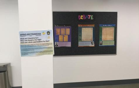 Project Simcha brightens students' days one poster at a time