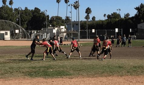 Boys Flag Football beats YULA to keep in-league undefeated streak alive