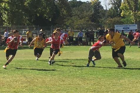 Boys' Flag Football undefeated streak ends with back-to-back losses to AGBU