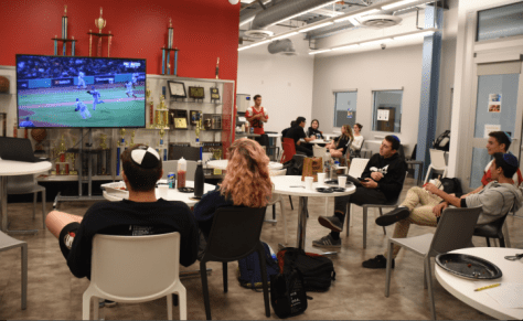 Loss doesn't dampen spirits as Dodger and  Red Sox fans watch Game 2 of World Series together after school