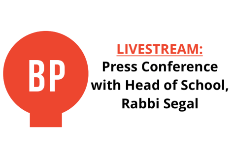 LIVESTREAM: Press Conference with Rabbi Segal