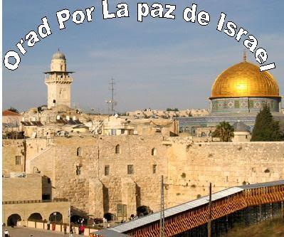 OREMOS ESTE MES POR ISRAEL & EL PUEBLO HEBREO: JUDÍO